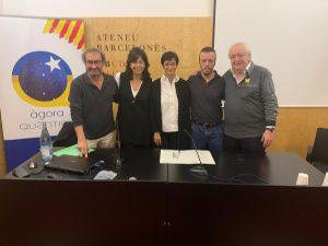 Taula rodona L'Esport, a l'Ateneu Barcelonès el 10-01-2020