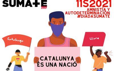 Súmate a la Diada de la diversidad y la pluralidad. Catalunya és una Nació.